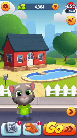 tai game Talking Tom Gold-Run mien phi