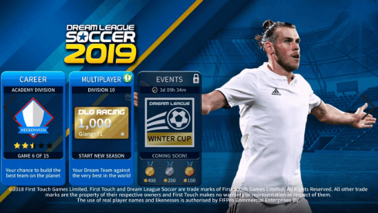 game dream soccer 2019