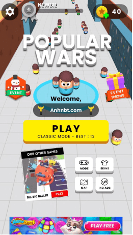 tai game popular wars